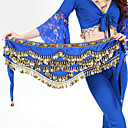 cheap Dance Accessories-Hip Scarves Women's Training Polyester Beading / Gold Coin Animals / Christmas Decorations / Halloween Decorations Hip Scarf / Belly Dance / Princess / Historical Characters / Fairies