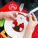 abordables Reloj Smart Accesorios-1pc Textil Cocina creativa Gadget Plato de Servicio, Vajillas