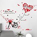 billige Veggklistremerker-Dekorative Mur Klistermærker - Ord og sitater Wall Stickers Romantik / Ord & Citater / Transport Stue / Soverom / Baderom