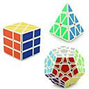 preiswerte LED Glühbirnen-Zauberwürfel YONG JUN Pyramid Alien Megaminx 3*3*3 Glatte Geschwindigkeits-Würfel Magische Würfel Puzzle-Würfel Profi Level