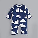 お買い得  男の子用 赤ちゃん ロンパース&カバーオール-赤ちゃん 日常 コットン ワンピース 冬 秋 長袖 ダークブルー