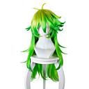 halpa Rooliasu peruukki-Synteettiset peruukit / Pilailuperuukit Suora Synteettiset hiukset Vihreä Peruukki Naisten Pitkä / Hyvin pitkä Suojuksettomat