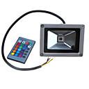 halpa Seinälampetit-LED-valonheittimet Kannettava / Etäohjattu / Himmennettävissä RGB 24V / 12V Ulkovalaistus