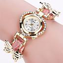 abordables Relojes de Moda-Xu™ Mujer Reloj de Pulsera Gran venta PU Banda Vintage / Casual / Mariposa Negro / Blanco / Azul