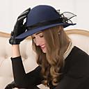 abordables Coiffes-Laine / Tulle Fascinators / Chapeaux / Coiffure avec Fleur 1pc Mariage / Occasion spéciale / Décontracté Casque