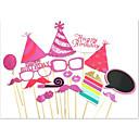 זול מדבקות קיר-חג מולד / חתונה / יום הולדת / ארוסים / אָהוּב / שנה חדשה / מסיבת מתנות לתינוק / מסיבת החתונה נייר כרטיס קשיח קישוטי חתונה נושא קלאסי /