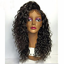 cheap Human Hair Wigs-Human Hair Glueless Lace Front Lace Front Wig Brazilian Hair Curly Wig 150% Density with Baby Hair Natural Hairline African American Wig 100% Hand Tied Women's Medium Length Long Human Hair Lace Wig