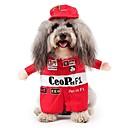 halpa Koiran vaatteet-Kissa / Koira Asut Koiran vaatteet Hahmo Punainen Teryleeni / Puuvilla Asu Lemmikit Miesten / Naisten Cosplay