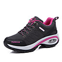 cheap Men's Athletic Shoes-Women's Shoes Leather Summer / Fall Comfort / Ankle Strap / Light Soles Sneakers Purple / Fuchsia / Dark Grey