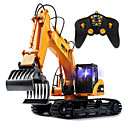 cheap RC Cars-RC Car HUINA 16 Channel 2.4G Crawler / Excavator / Wood Grabbing Machine 1:12 KM/H Remote Control / RC / Rechargeable / Electric