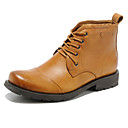 cheap Party Headpieces-Unisex Shoes Nappa Leather Fall / Winter Combat Boots Boots Light Brown / Party & Evening
