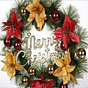 baratos Flor artificiali-Decorações de férias Santa Guirlandas / Ornamentos Desenho Animado / Festa / Halloween 1pç