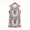 preiswerte Backformen-Damen Street Schick Hülle Kleid - Ringer-Rücken-Kleid Druck Mini