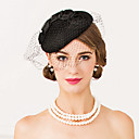 cheap Party Headpieces-Wool Net Fascinators Hats Headpiece Classical Feminine Style