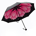 cheap Umbrellas-Plastic Men's / Women's / Girls' Sun umbrella Folding Umbrella