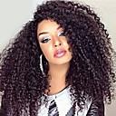 povoljno Perike s ljudskom kosom-Ljudska kosa Perika s prednjom čipkom bez ljepila Lace Front Perika stil Brazilska kosa Kinky Curly Perika s dječjom kosom Prirodna linija za kosu Afro-američka perika 100% rađeno rukom Žene Kratko