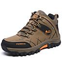ieftine Pantofi Sport de Bărbați-Bărbați PU Primăvară / Toamnă Confortabili Adidași de Atletism Drumeții Anti-Alunecare Gri / Maro Închis / Verde