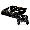 cheap PS4 Accessories-B-SKIN Sticker For PS4 ,  Novelty Sticker PVC 1 pcs unit