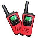 baratos Walkie Talkies-T48 Rádio de Comunicação Portátil Analógico VOX Codificação Transponder Automático Bloqueio de Teclado Lanterna Traseira LCD Explorar
