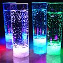 baratos Novidades em Iluminação-1pc 400ml 7 cores em mudança levou beber luz noite copo levou luz intermitente suco para KTV bar partido luzes sem chama copo