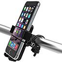 abordables Fundas, Bolsas y Correas-Montura de Teléfono para Bicicleta Ajustable Ciclismo / Bicicleta ABS Negro - 2pcs