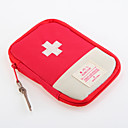 cheap Travel Bags-Oxford Cloth Travel Bag Travel Pill Box/Case Waterproof Portable Dust Proof Travel Storage Travel Accessories for Emergency