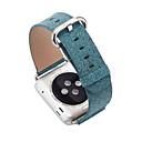 abordables Reloj Smart Accesorios-Ver Banda para Apple Watch Series 4/3/2/1 Apple Hebilla Clásica Cuero Auténtico Correa de Muñeca