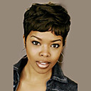 cheap Human Hair Capless Wigs-natural wavy short human hair wigs for black woman