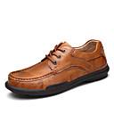 halpa Pyöräilyjersey ja shortsit/housut -setit-Miesten kengät Nappanahka Kevät / Kesä / Syksy Comfort Oxford-kengät Musta / Vaalean ruskea / Juhlat / Nahkakengät