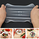 cheap Drinkware Accessories-4PCS Silicone Food Fresh Wraps Keep Fresh Reusable Seal Cover