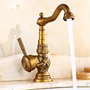 halpa Vessapaperitelineet-Kitchen Faucet - Perinteinen Antiikkimessinki Standard nokka Integroitu
