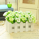 cheap Kitchen Tools-Artificial Flowers 1 Branch Modern Style Roses Tabletop Flower