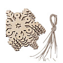 cheap Christmas Party Supplies-Ornaments Wood Wedding Decorations Christmas Winter