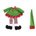 baratos Acessórios de Festa-Decorações Natalinas Artigos para Celebrar o Natal Têxtil Para Meninos Para Meninas Brinquedos Dom 3 pcs