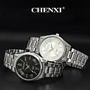 preiswerte Edelstahl-CHENXI® Herrn Armbanduhr Armbanduhren für den Alltag Edelstahl Band Charme Silber / Zwei jahr / Maxell626 + 2025