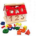 baratos Blocos de Montar-Blocos de Construir / Brinquedo Educativo 1pcs Casa Novidades / Adorável Para Meninos Dom