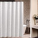 preiswerte Duschvorhänge-Duschvorhänge Neoklassisch Polyester Blumen / Pflanzen Maschinell gefertigt