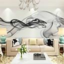 baratos Cortinas de Banho-Mural Tela de pintura Revestimento de paredes - adesivo necessário Floral / Art Deco / 3D