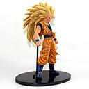 billige Anime Cosplay Tilbehør-Anime Action Figurer Inspirert av Dragon Ball Goku Anime Cosplay-tilbehør figur PVC Halloween-kostymer