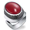 cheap Men's Rings-Men's Ring - Fashion Adjustable Red / Green / Blue For Party / Daily / Casual