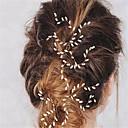 tanie Imprezowe nakrycia głowy-Imitacja pereł Szpilka do włosów z 1 Ślub / Specjalne okazje Winieta