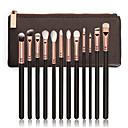 billige Hatter, capser og hodetørklær-12pcs Makeup børster Profesjonell Syntetisk hår Bærbar / Reisen / Økovennlig Tre