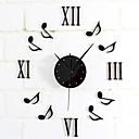 זול שעוני קיר מודרניים/עכשויים-רטרו / מודרני / עכשווי מתכת עגול בבית / בטבע,AA