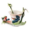 رخيصةأون أكواب و ماغات-أدوات الشرب أواني الشرب الطريفة أكواب الشاي زجاج زجاجات المياه أقداح القهوة
