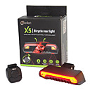 cheap Bike Lights & Reflectors-Rear Bike Light / Safety Light / Tail Light Laser / LED Bike Light LED Cycling Waterproof, Remote Control / RC, Super Light Lithium Battery 80 lm Battery Cycling / Bike / Outdoor / ABS / IPX-4