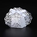 preiswerte Gastgeschenk Boxen & Verpackungen-Kreisförmig Quadratisch Kreativ Perlenpapier Geschenke Halter mit Bänder Print Geschenkboxen