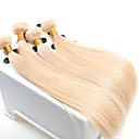cheap One Pack Hair-Virgin Human Hair Remy Weaves Straight / Classic 500 g More Than One Year Daily