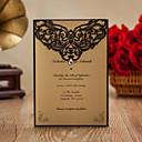 baratos Convites de Casamento-Dobrado no Topo Convites de casamento Convites para Festas de Noivado Bachelorette Party Cartões Conjuntos de Convites Cartões de convite