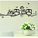 cheap Wall Stickers-Animals Wall Stickers Plane Wall Stickers Decorative Wall Stickers, Vinyl Home Decoration Wall Decal Wall Glass/Bathroom