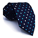cheap Men's Accessories-Men's Cute Party Work Rayon Necktie - Polka Dot Color Block Jacquard Basic